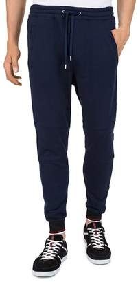 The Kooples Tricolored-Cuff Regular Fit Sweatpants