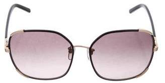 Chloé Oversize Tinted Sunglasses w/ Tags