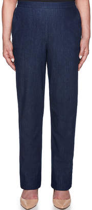 Alfred Dunner New Flash Denim Pull-On Pants