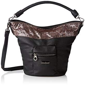 Little Marcel Women's Chiraz Top-Handle Bag Black