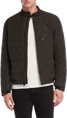 Michael Kors Moto Bomber Down Jacket