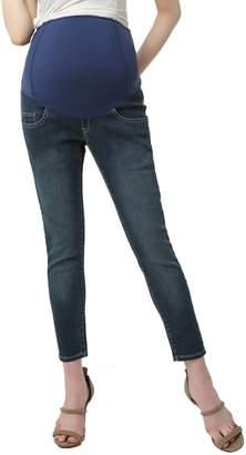 Kimi and Kai Tara Crop Maternity Skinny Jeans