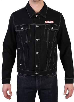 Kenzo Black Branded Jacket