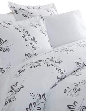 Blissful Bedding Premium Ultra Soft Three-Piece Microfiber Duvet Cover Set