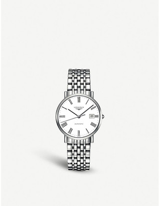 Longines L4.810.4.11.6 Elegant stainless steel watch