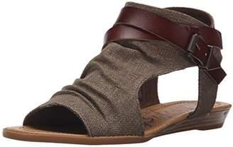 Blowfish Women's Balla Wedge Sandal,7 Medium US