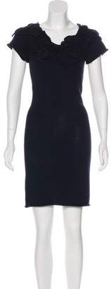 Adam Wool Knee-Length Dress w/ Tags