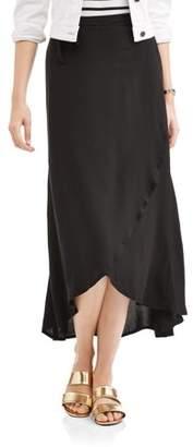 Whoa, Wait Women's Wrapped Skirt