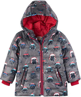 Hatley Pups Hooded Puffer Jacket