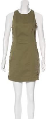 A.L.C. Sleeveless Lace-Up Dress