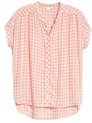 Caslon Woven Check Shirt