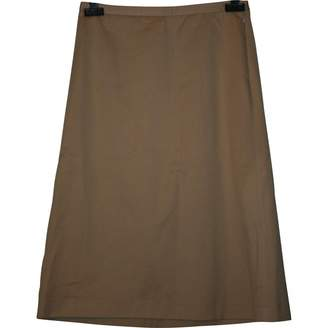 Viktor & Rolf Beige Cotton Skirt for Women
