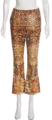 Frame Mid-Rise Straight-Leg Pants w/ Tags