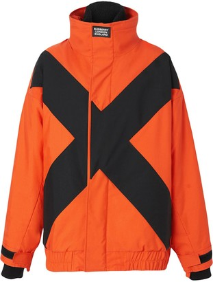 Burberry two-tone track jacket