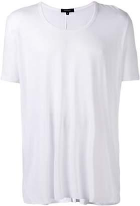 Unconditional loose scoop neck T-shirt
