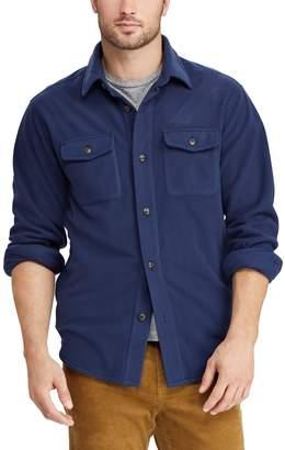 Chaps Men's Regular-Fit Plaid Flannel Shirt Jacket