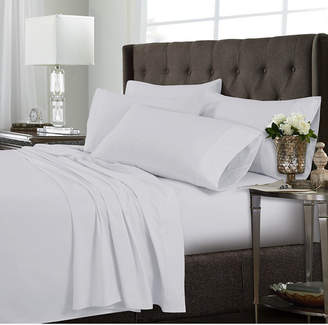 Tribeca Living Microfiber 120-gsm Extra Deep 6-Piece Pocket Cal King Sheet Set Bedding