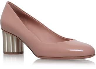 Salvatore Ferragamo Leather Lucca Pumps 55