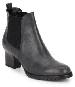 Tiffany Leather & Textile Booties $498 thestylecure.com