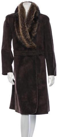 ValentinoValentino Leather Coat