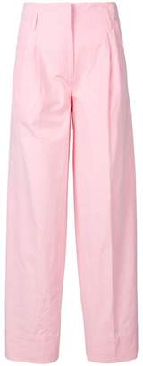Alberto Biani loose fit straight trousers