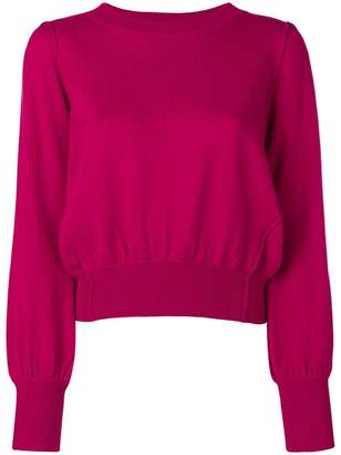 Twin-Set Juliet sleeves knitted sweater