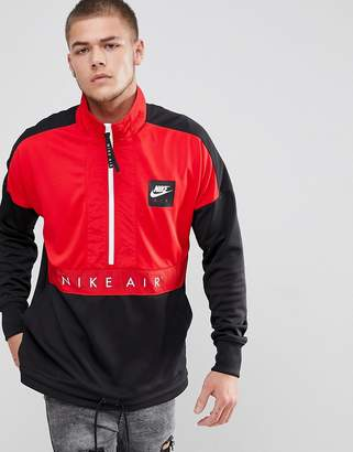 Nike Half-Zip Jacket In Black 918324-657