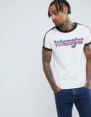 Wrangler raglan logo t-shirt