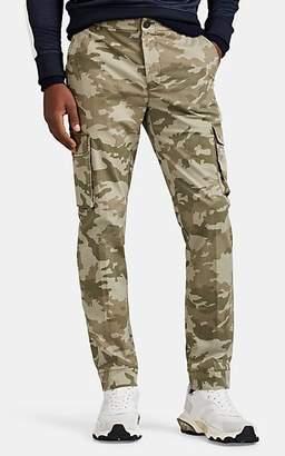 ATM Anthony Thomas Melillo Men's Camouflage Cotton Slim Cargo Pants - Green