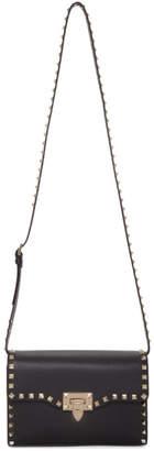 Valentino Black Garavani Medium Rockstud Shoulder Bag