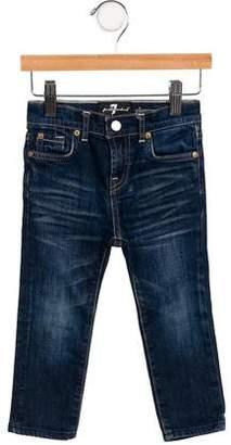 7 For All Mankind Seven Girls' Five-Pocket Jeans