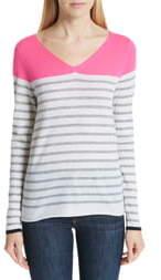 Majestic Filatures Stripe Cashmere Sweater