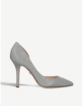 Eloise Silver Glitter Court Shoes - Silver Kurt Geiger vioHUijm