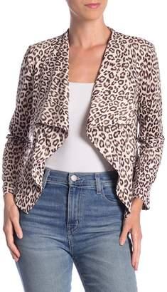 BB Dakota Aleah Leopard Print Jacket