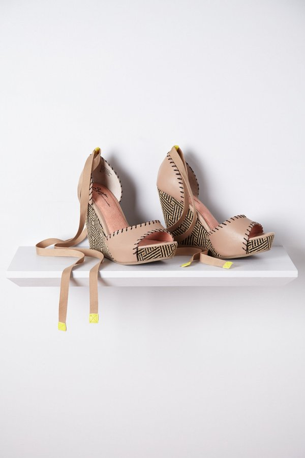 Anthropologie Whipped Up Wedges