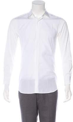 Neil Barrett Slim Fit Button-Up Shirt