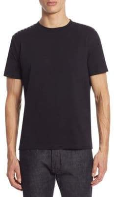 Valentino Rock Stud Slim-Fit Tee