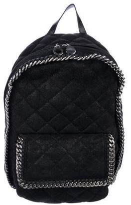 Stella McCartney Quilted Shaggy Deer Falabella Backpack