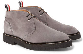 Thom Browne Suede Chukka Boots