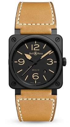 Bell & Ross BR 03-92 Heritage Ceramic Watch, 42mm