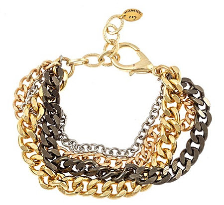 Michelle Roy Multi Chain Bracelet
