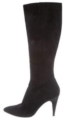 Via Spiga Suede Knee-High Boots
