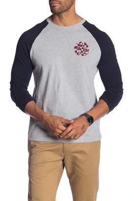Original Penguin Contrast Raglan Sleeve Shirt