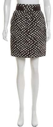 Tibi Abstract Mini Skirt