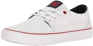 DC Women's Trase TX Skate Shoe Black/White