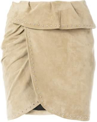 IRO Glad stud detail skirt