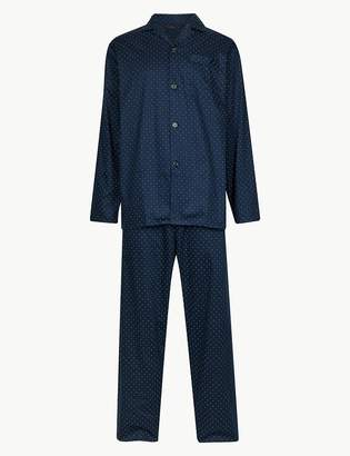M&S CollectionMarks and Spencer Pure Cotton Pyjama Set