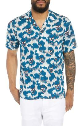 The Kooples Regular Fit Hawaiian Shirt