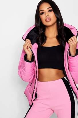 boohoo Sara Quilted Jacket