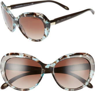 Tiffany & Co. 56mm Gradient Sunglasses